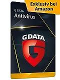 G DATA Antivirus 2021, 1 PC - 1 Jahr, Aktivierungskarte, Virenschutz für Windows 10 / 8 / 7, Made in Germany - zukünftige Updates inklusive