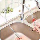 ASDAD 24.4 Zoll Spring Pipe Baggerwerkzeuge Drain Snake Drain Cleaner Sticks Clog Remover Reinigungswerkzeuge Haushalt Für Küchenspü