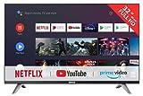 RCA RS32F3-EU Smart Fernseher (32 Zoll Full-HD Android Fernseher mit Google Assistant, Google Play Store, Prime Video, Netflix) HDMI, USB, WiFi, Bluetooth, Triple Tuner (DVB-C/-T2/-S2)