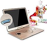 Tragbarer DVD-Player 22', mit 18' High-Helligkeit-Swivel-Bildschirm 3D großer High-Definition-Swivel-Bildschirm mit Fernbedienung AV-IN/AV-Out/SD/USB/CD/DVD
