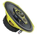 Ground Zero GZCF 7104XSPL- 18 x 25 cm 4-Wege-Lautsprecher mit 300 Watt (RMS: 200 Watt)