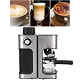 minifinker Elektrische Kaffeemaschine, automatische Kaffeemaschine kann die Dampffreigabe für Heimbüros, Schlafsäle, Wohnungen, Wohnmobile, Tourismus und andere Orte einstellen