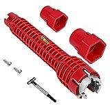 Gracy Hahn-Wannen-Installer-Tool Plumbing Steckschlüssel-Wasser-Rohr-Tap Spanner für Badezimmer Küche, Ausbau W