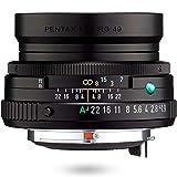 HD PENTAX-FA 43mmF1.9 Limited Schwarz – Weitwinkelobjektiv mit leistungsstarker HD-Vergütung, für das PENTAX K-System mit 35 mm Vollformat S