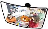 professioneller Beobachtungsspiegel Überwachungsspiegel Sicherheitsspiegel Kontrollspiegel, Konvexspiegel 40x60 cm, Endlich kein lästiges Schrauben mehr beim Einstellen des Spiegels