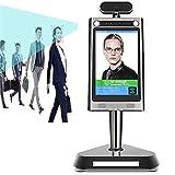 KAUTO Temperaturerkennung + Gesichtserkennung 8-Zoll-Thermo-Infrarot-Tablet-Kamera-Zugangskontrollsystem Zeiterfassung für den Eintritt des Unternehmens