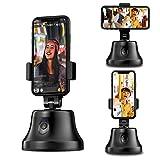 XZHFC Tracking-Halter 360 ° Rotation Auto Face-Objekt Intelligent Selfie-Stick-Kamera-Mount-Foto- Oder Videotelefonhalter VLOG Shooting Tripod-Stand-Gimbals Stabilisator Für iPhone Und Android