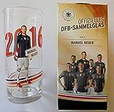 Offizielles DFB Sammelglas Fussball EM 2016 Rewe Ovp Manuel Neuer