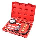 LLCTOOLS Kompressionsmesser Kompressionstester Kompressionsprüfer Testgerät Benzinmotor 0-20 bar oder 0-300 psi Verdichtung
