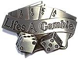Buckle Poker, Royal Flush, Lifes A Gamble, Würfel, Glücksspiel, Gü