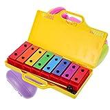 Gadpiparty Xylophon für Kleinkinder Und Kinder Kunststoff Abgestimmt Xylophon mit Schlägel Baby Musical Spielzeug Vorschule Pädagogisches Percussion Instrument