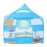 BHBXZZDB Kinderzelt Kinder Camping Spielhaus Spielzeughaus drinnen oder draußen & Spielzelt Spielen Single Outdoor Vier-Eck-Haus Chil (Zelt)