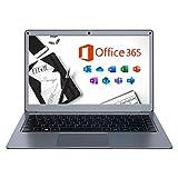 Jumper X3 Laptop 13,3Zoll mit Microsoft Office 365 FHD Computer PC 4GB RAM 64GB eMMC Intel Celeron CPU, Windows 10, Dualband WLAN, USB 3.0 Unterstützt 256GB TF Karte und 1TB SSD Erweiterung