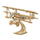 Chutoral Dampfzug Modellbausatz Holz, DIY Holz Holzhandwerk Modell Kits - 3D Holz Puzzle Bausatz Lernspielzeug für Erwachsene, Kinder, Jugendliche