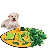 Anisity Schnüffelteppich für Hunde Schnüffelrasen Intelligenzspielzeug Schnüffelteppich Puzzle Spielzeug Haustier Matte Teppich für Hund Schnüffeldecke