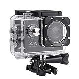 Camcorder, 2-Zoll-Action-Kamera für automatische Fotografie, wiederaufladbar mit wasserdichtem Gehäuse und Verlängerungskit für Unterwasserfotografie Außenfotografie
