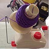 Oulensy Handbetriebene Wool Winder Halter String Kugel Wickler für Garn Faserwickelmaschine Fadenspulmaschine Nähzubehör