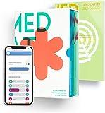MedAT 2021 / 2020 – Komplettpaket zur Vorbereitung auf den MedAT | 6 MedAT Lernskripte plus Simulation & E-Learning Zugang | Vorbereitung MedAT Österreich