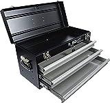 BGS 3312 | Metall-Werkzeugkoffer, leer | 3 Schubladen