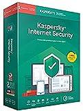 Anti-Virus Kaspersky Internet Security 2019 – 1 Lizenz / 1 Jahr – Keine CD – Schutz für EFICAZ – Pago SEGURO – para PC/MAC/MOVILES