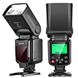 Neewer NW-670 TTL Flash Blitz Blitzgerät mit LCD-Anzeige für Canon 7D Marke II,5D Marke II III,IV,1300D,1200D,1100D,750D,700D,650D,600D,550D,500D,100D,80D,70D,60D und alle anderen Canon DSLR