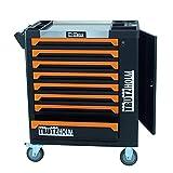 TrutzHolm® Werkstattwagen 8 Schubladen | zentral abschließbar | Soft-Close-System | unbestückt - leer | robust und vielseitig einsetzbar Werkzeugwagen Werkzeugkasten Werkzeugkiste