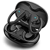 HolyHigh Bluetooth Kopfhörer in Ear, Kopfhörer Kabellos IPX7 Wasserdicht, Bluetooth Sportkopfhörer Wireless Kopfhörer mit Premium Klangprofil/HD-Mikrofon/36 Stunden Spielzeit