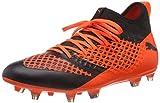 Puma Herren Future 2.3 Netfit FG/AG Fußballschuhe, Schwarz Black-Shocking Orange 02, 47 EU