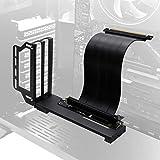EZDIY-FAB Grafikkarte-Halterung, GPU-Halterung, VGA-Unterstützung für Grafikkarte, mit 20 cm (7,8 Zoll) Riser PCIE 3.0 Kabel