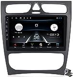 SuRose Android 9.1 GPS Auto Browser, für Benz CLK W209 W203 W463 W208 - UKW RDS DAB+ Autoradio, WiFi/Bt Internetverbindung, DVR USB/Freisprechfunktion
