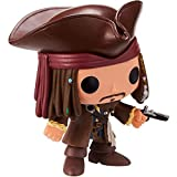 WWXX Funko POP Movies: Pirates of The Caribbean Jack Sparrow 3.75inch Collectible Figure Exclusive