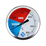 HANDAN BBQ Thermometer Messgerät 2 100 F 550 F BBQ Barbecue Holzkohlegrill Grube Holz Raucher Temp Gauge Grill Thermometer 52MM Zifferblatt Excitement