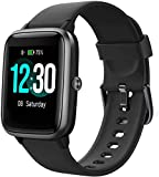 Smartwatch, Fitness Tracker Uhr 1.3' HD Voll Touchscreen, Damen Herren Uhren Watch für Android IOS, IP68 Fitness Uhr mit Pulsmesser Schlafmonitor Stoppuhr Musiksteuerung, Sportuhr Aktivitätstracker