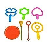 FEEE-ZC 7pcs Bubble Blowing Tool Bubble Blower Herstellung von Zauberstäben Spielzeug für Kinder