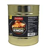Euro-East Kimchi, Koreanisch Vegan und Glutenfrei eingelegter Chinakohl im koreanischen Stil, leicht Schärfe für europäischen Geschmack, Groß 1er pack (1x3000g)