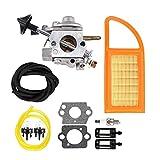LEILEI Stlei Store Vergaser Luftfilter Kraftstoff CARB REpower Kit Fit für Stihl BR500 BR550 BR600. (Color : Black)