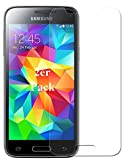 Smartphone Equipment [2er Pack] Panzerglas für Samsung Galaxy S5 Mini, Echtglas H9, Glasfolie Schutzfolie Glas Folie Panzerfolie Displayschutz