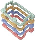 MRZJ 4PC Müllsackhalter für Müllbeutel und Tüten praktische Halterung einfach zu montierender Sackhalter zum Einhängen Tragbare Küche Müllsackhalter Incognito Schränke Stoffständer Handtuchhalter