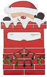 Amazon.de Geschenkkarte in Geschenkschuber - 30 EUR (Weihnachtsmann)
