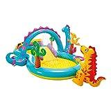 Intex Dinoland Play Center - Kinder Aufstellpool - Planschbecken - 333 x 229 x 112 cm - Für 3+ Jahre
