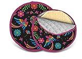 Tortilla-Wärmerbeutel aus Baumwolle, 27,9 cm und 20,3 cm Tortilla-Wärmer für die Mikrowelle, hält Ihre mexikanische Tischdekoration elegant für Ihre Taco Dienstagnacht