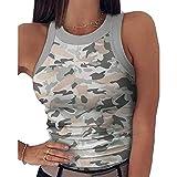 maozuzyy T-Shirt Kurzarmhemden Neue Ankunft Frauen Crop Tops Sommer Camis Damen Casual Tank Tops Weste Ärmellose Tops Elastisches Hemd Vest-J_S
