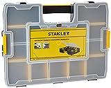 Stanley Werkzeug-Organizer Sortmaster (44.2 x 9.2 x 33.3 cm, Innenteiler anpassbar, bis zu 1024 Konfigurationen möglich, kein Verrutschen, Deckel verriegelbar) 1-94-745