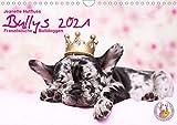 Bullys - Französische Bulldoggen 2021 (Wandkalender 2021 DIN A4 quer)