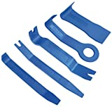 BGS 3027   Zierleistenkeile-Satz   5-tlg   verschiedene Formen   Hebelwerkzeug   Löse- / Demontage-Werkzeug Türverkleidung, Innen-Verkleidung, Zierleisten