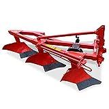 Wallentin & Partner | Dreischarpflug | 3 Schar Pflug 60 cm | Pflug Kleintraktor ab 25 PS | Dreischariger Pflug Traktor Dreipunktanbau Kat. 1 l 100 kg