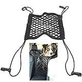 Autogitter-Organizer, Autositz-Netzgitter Hunde-Autogitter Vierseitige Elastische Doppelgitter-Autogittergitter für Hund/Kinder