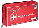 Walser 44264 KFZ Verbandskasten rot nach DIN 13164, Erste-Hilfe Set Auto, Verb