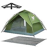 Night Cat Zelt 3 4 Personen Mann Wasserdicht wurfzelt Camping Atmungsaktiv Einfache Einrichtung für draussen Wandern Pop Up Zelt