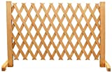 SUOMO Garten Dekorative Zäune Lattenzaun Gartenzaun gartentor Steckzaun Holz Zaun Terrasse Erweitern Zaun Hölzern Panel Bildschirm Isolierung Tier Barriere zum Hof Restaurants ,5 Größ